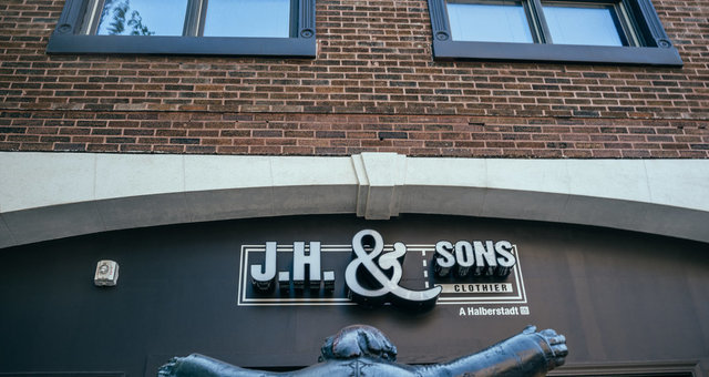 Downtown on Phillips J.H. & Sons Front Exterior