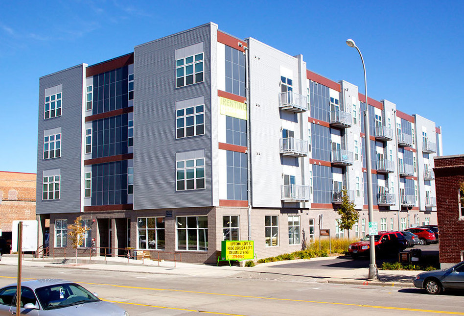 Uptown Exchange Building Lofts Artist Rendering